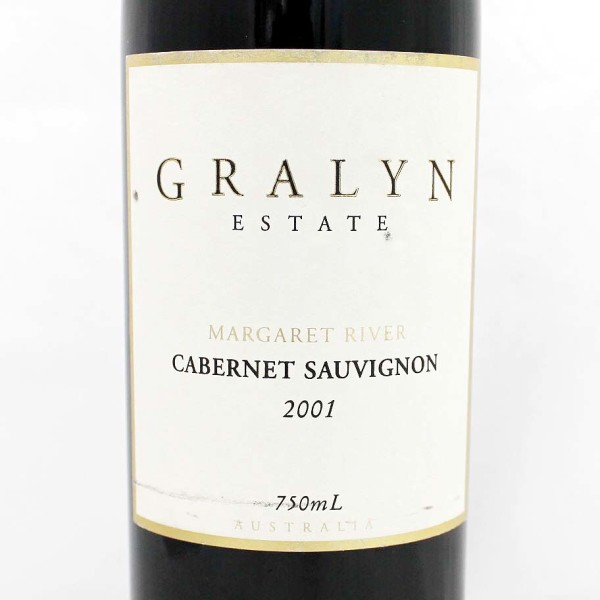 2001 Grayln Estate Cabernet Margaret River Australia
