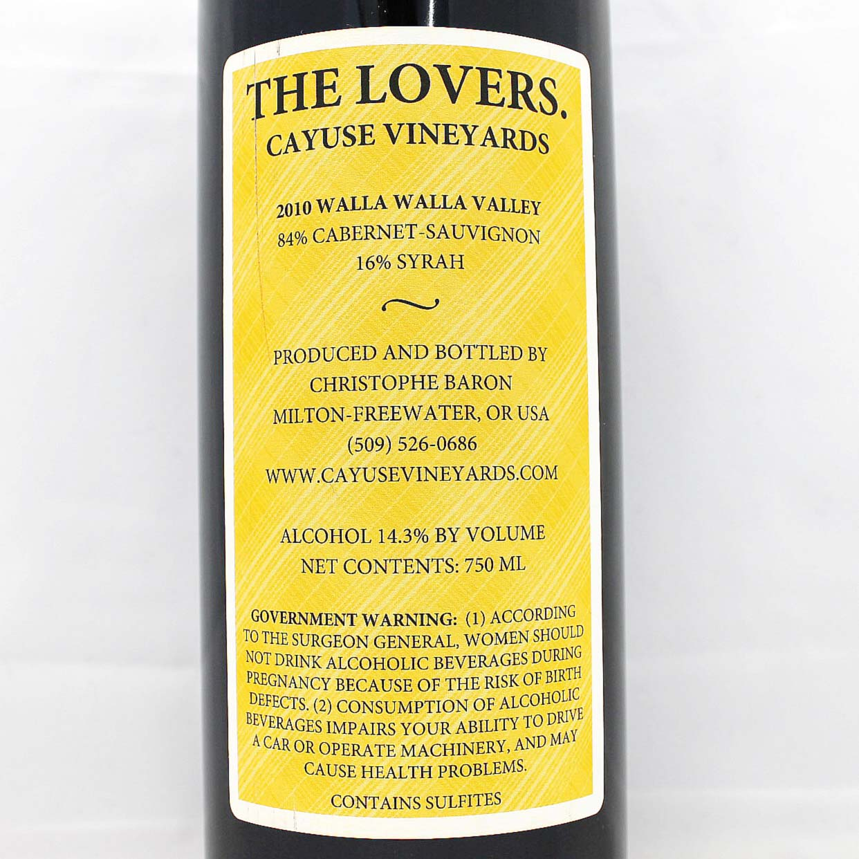 2008 Cayuse The Lovers