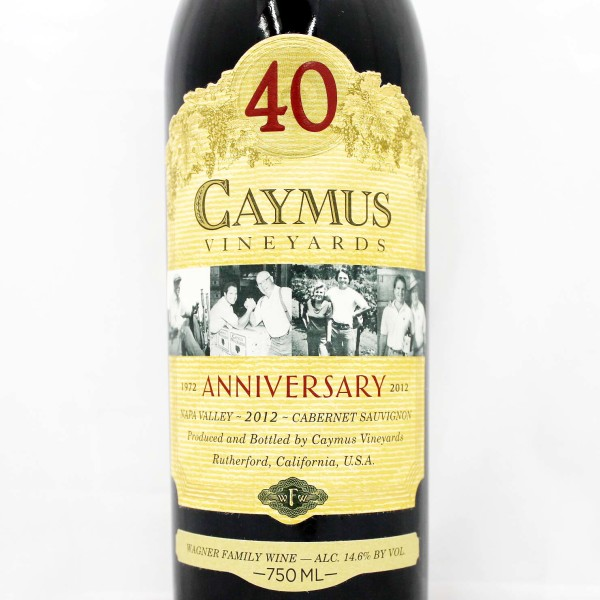 2012 Caymus