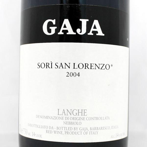 2004 Gaja Sori San Lorenzo Langhe