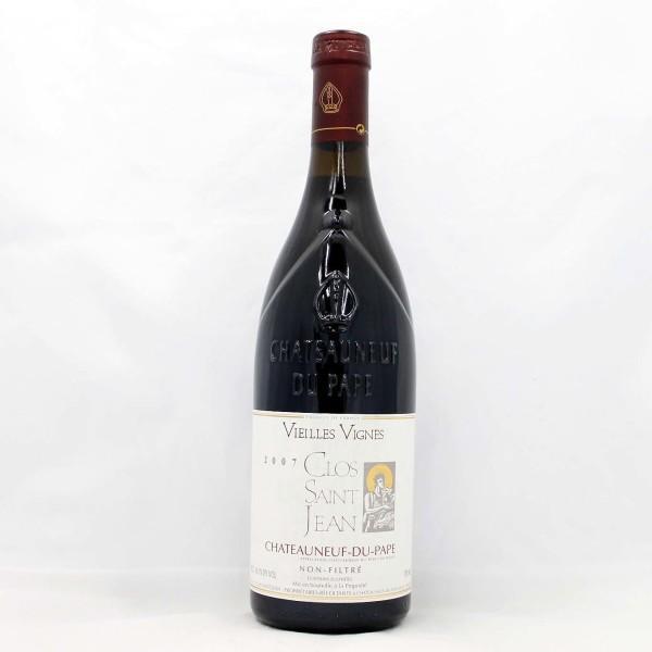 Sell your wine: 2007 Clos Saint Jean CDP Vieilles Vignes