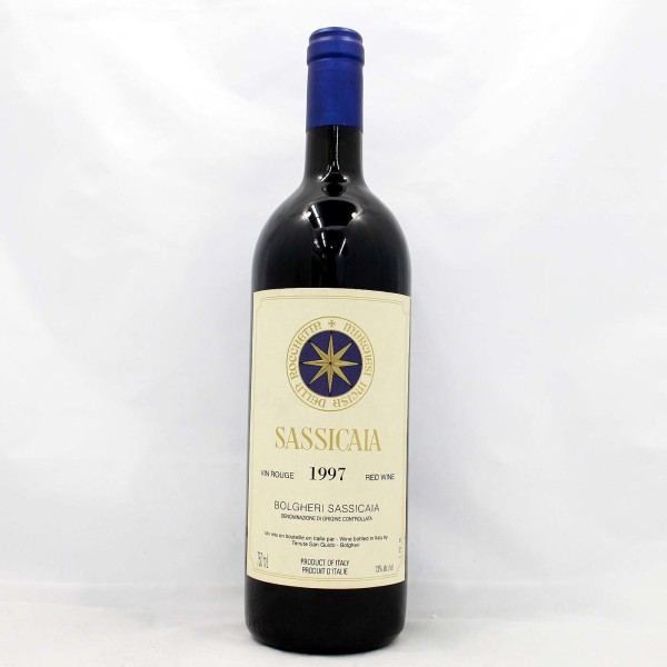 Sell your wine: 1997 Sassicaia