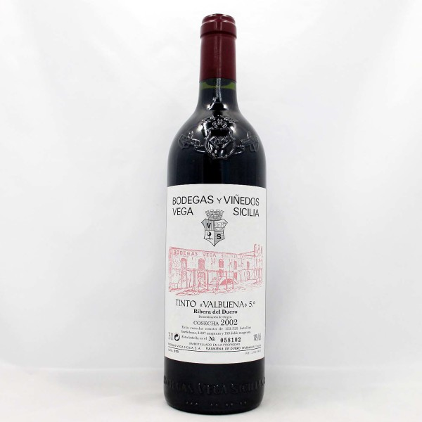 Sell your wine: 2002 Vega Sicillia Valbuena 5
