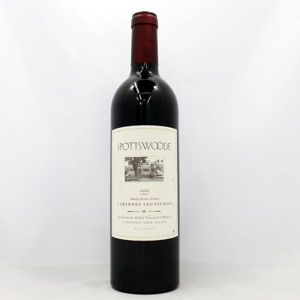 Sell your wine: 2010 Spottswoode Family Estate Grown Cabernet Sauvignon