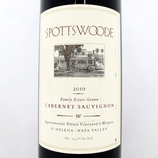 Spottswoode Cabernet