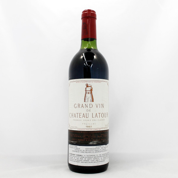 Sell your wine: 1982 Chateau Latour