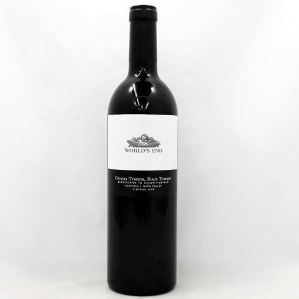 Sell your wine 2009 Worlds End Good Times Bad Times