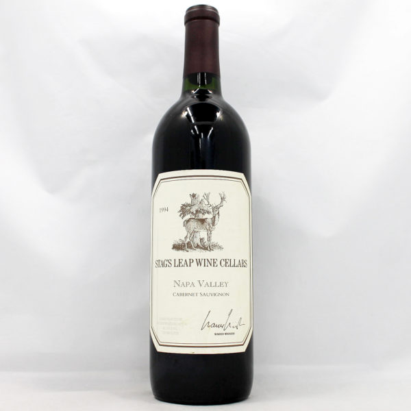 Thank you for selling your wine : 1994 Stag's Leap