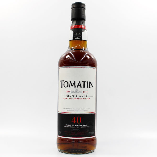 Sell your whisky: Tomatin 40 Year Old