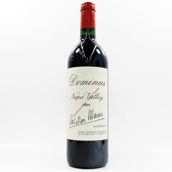 Sell your wine: 1991 Dominus Estate