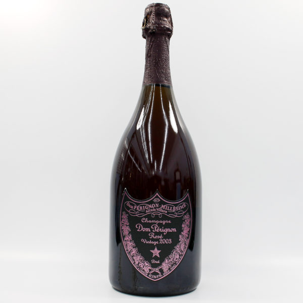 Sell your champagne: 2003 Dom Perignon Rose