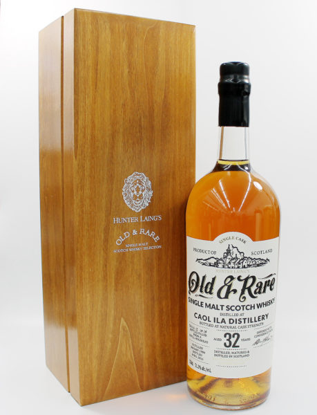 Sell your whisky: Hunter Laing Old & Rare Coal Ila 32 Year Old