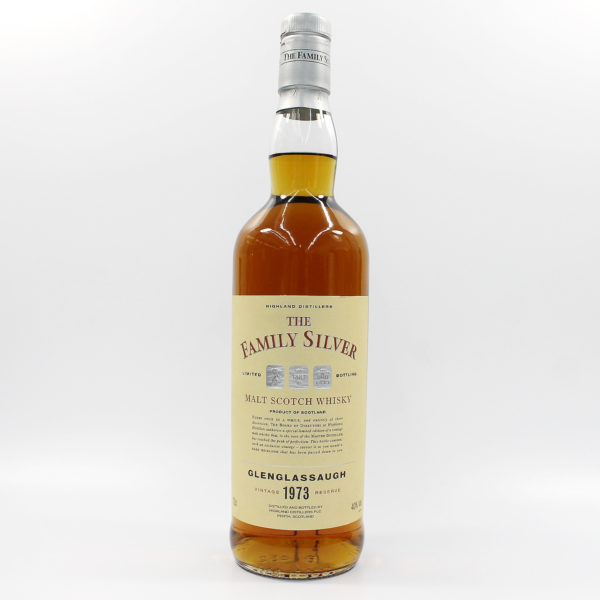 Sell your whisky: 1973 Glenglassaugh Family Silver Vintage Reserve