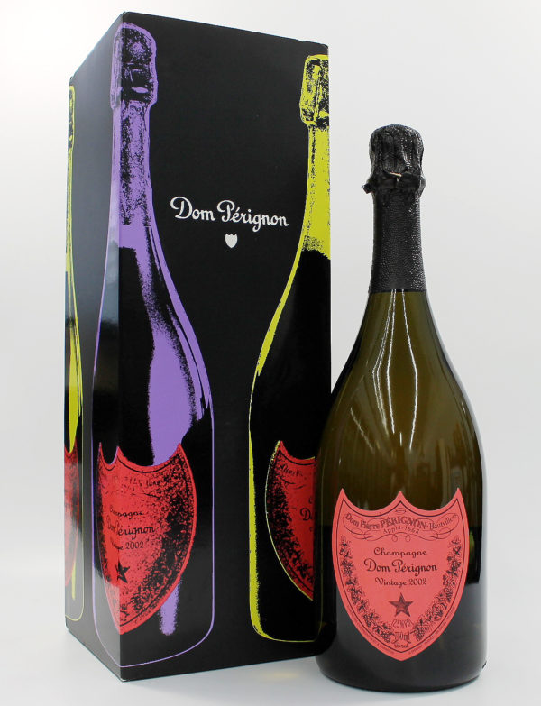 Sell your champagne: Dom Perignon Andy Warhol