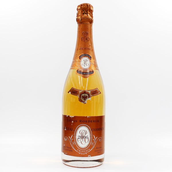Sell your champagne: 2006 Cristal Rose