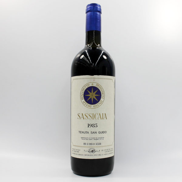 Sell your wine: 1985 Sassicaia