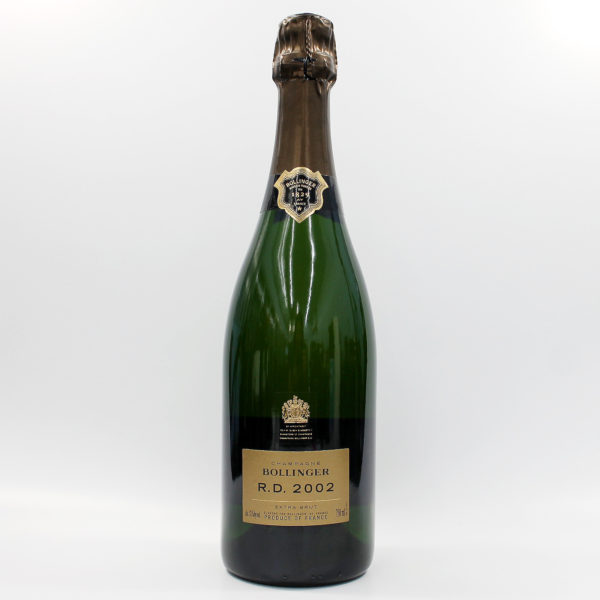 Sell your champagne: 2002 Bollinger R.D. Extra Brut